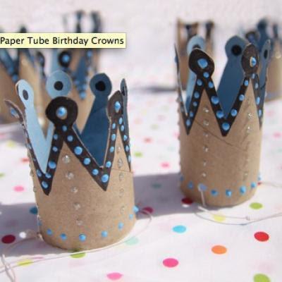 Reutilizando Tubinhos De Papel Higi  Nico  Coroas Para Enfeitar A