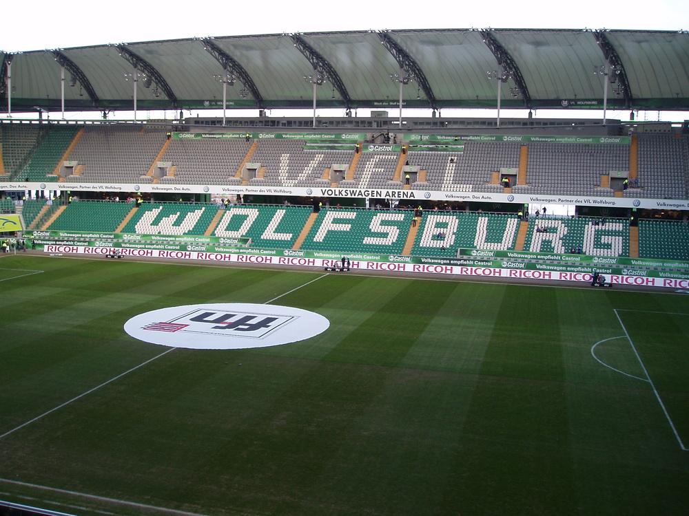 vfl wolfsburg volkswagen arena football stadiums. Black Bedroom Furniture Sets. Home Design Ideas