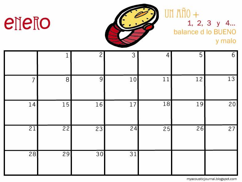 Plantillas Calendario Mensual | New Calendar Template Site