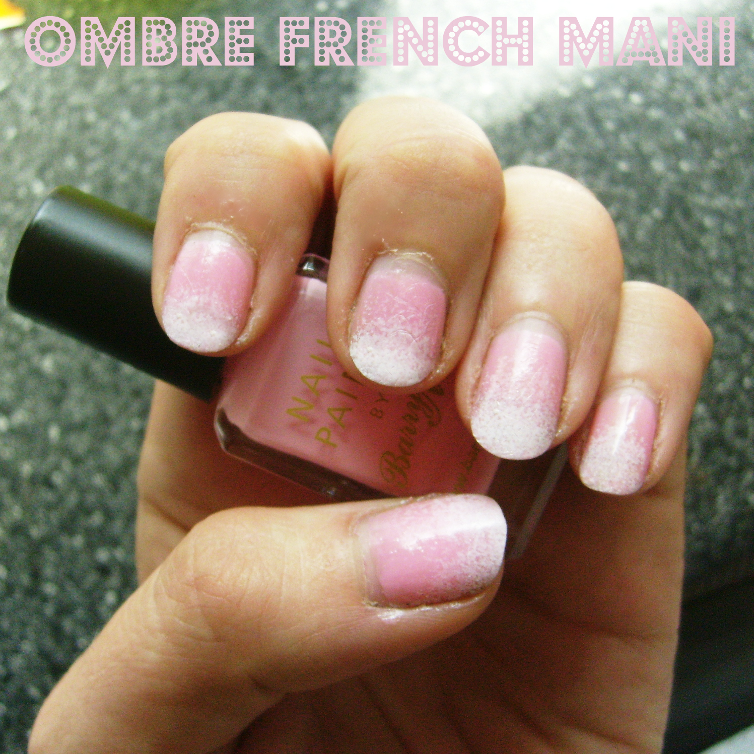 Katy Clouds: Ombre French Manicure