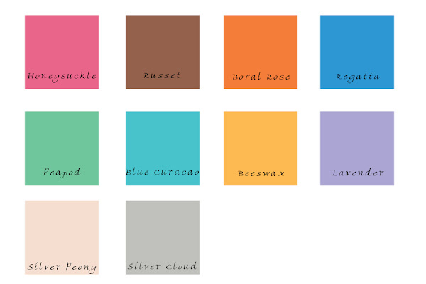 2011 Spring Colors