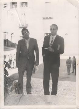 1960 - Col giornalista Antonio Piscitelli