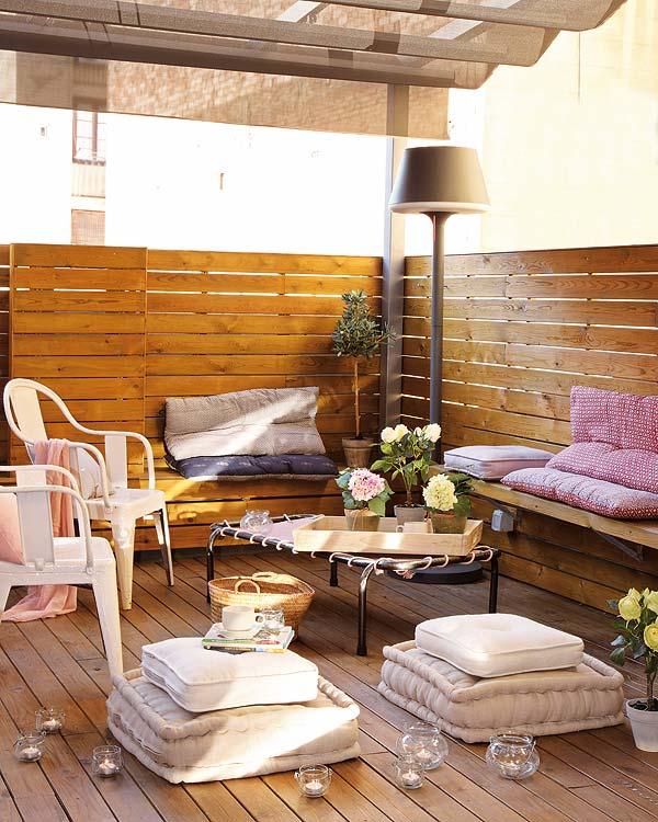 Estilo rustico terrazas rusticas for Arredare veranda