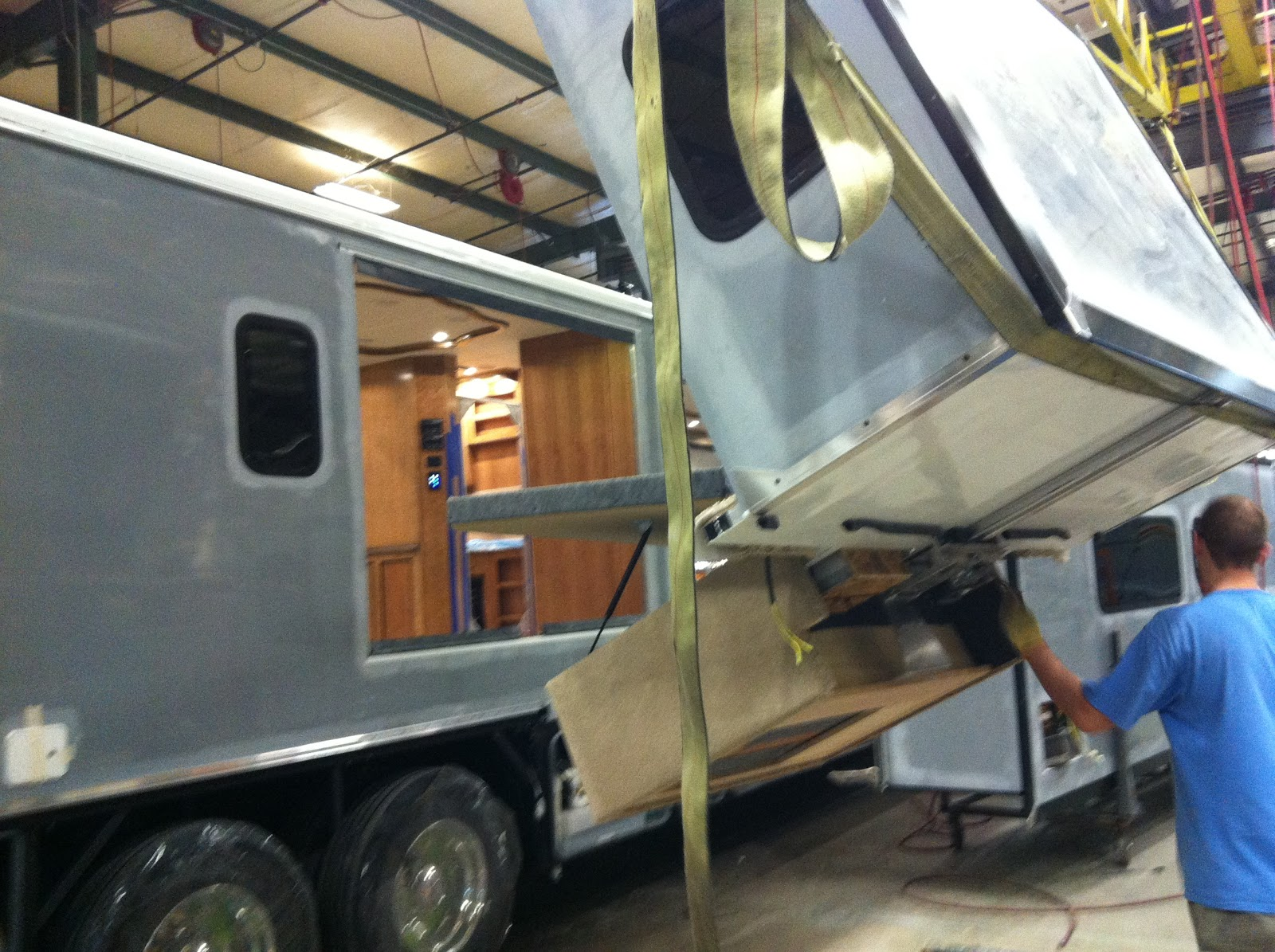 Living a dream build motorhome