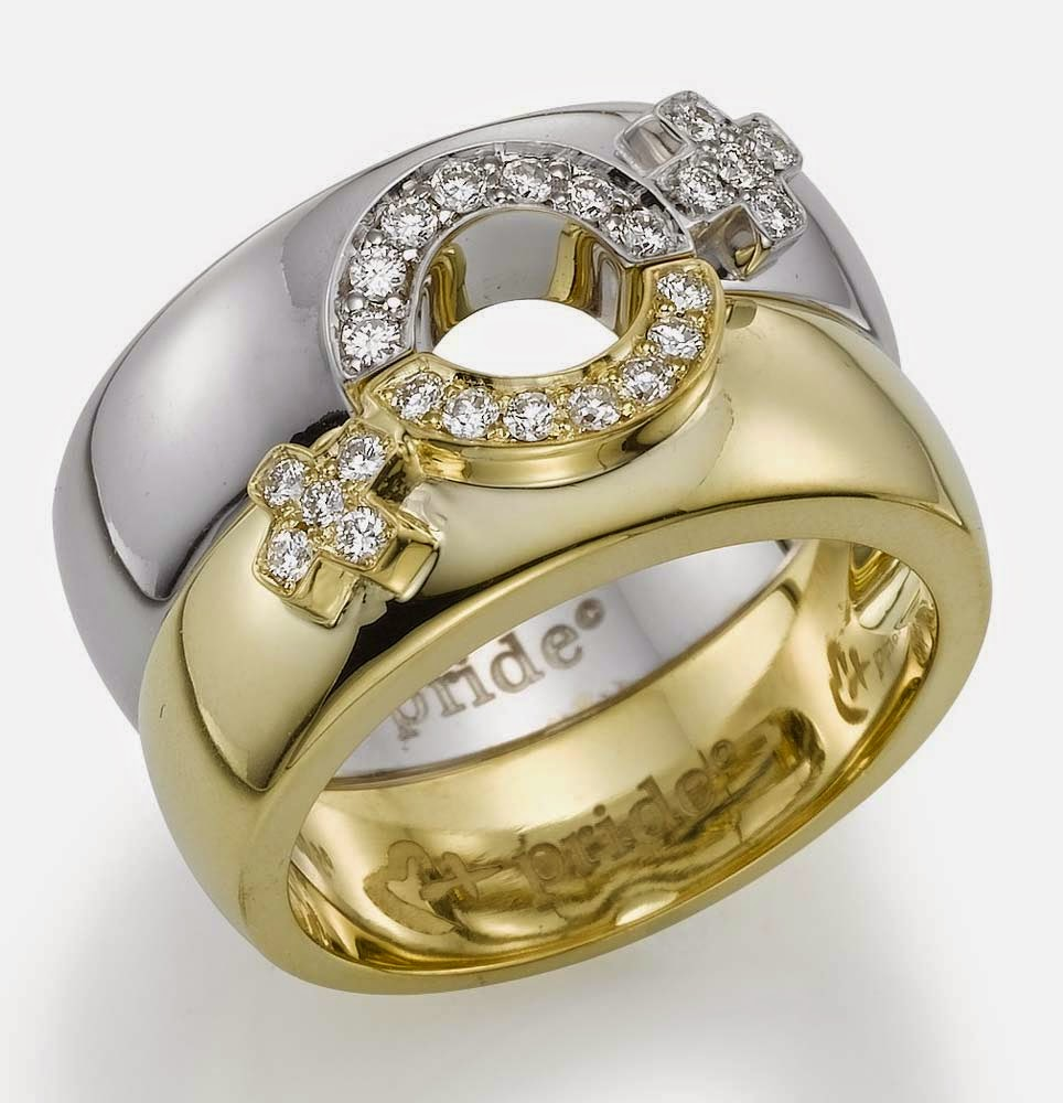 lesbian wedding ring sets australia white and gold model With lesbian wedding rings sets