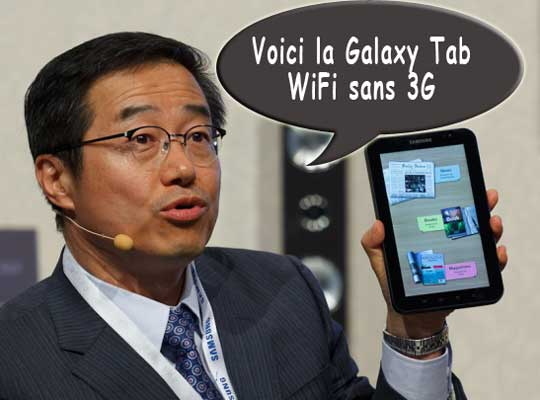Samsung Galaxy Tab Gingerbread And Other Stories