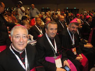 Obispo de Alcalá de henares Juan Antonio Reig Pla en Encuentro  Mundial de las Familias