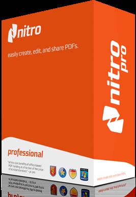 تحميل برنامج nitro pdf professional كامل بالباتش والسيريال