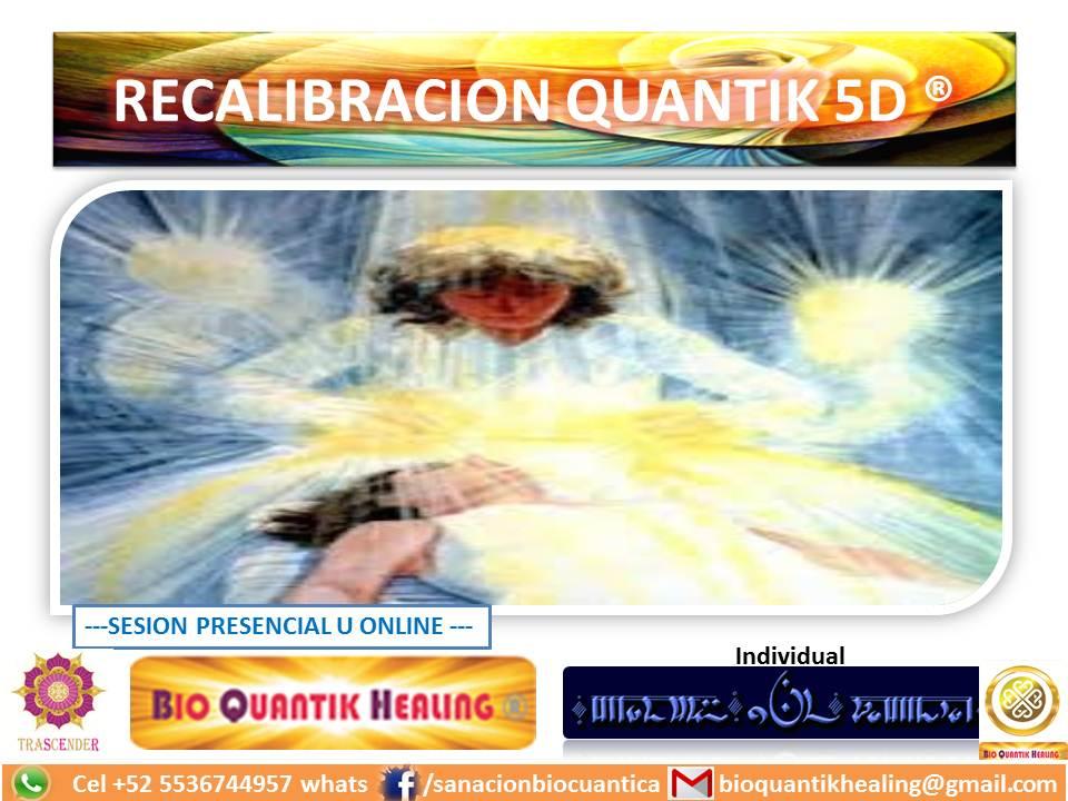 RECALIBRACION QUANTIK 5D