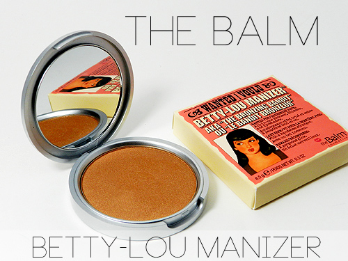 The Balm Betty-Lou Manizer Bronzer