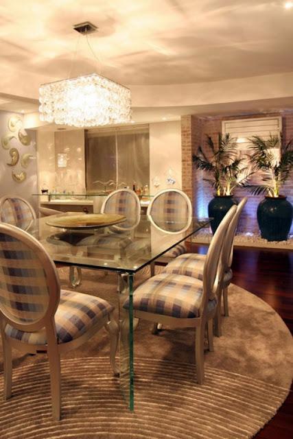 Altura Do Lustre Da Sala De Estar ~ Arquitetura Feminina Iluminação Sala de Jantar  Lustre e Pendente