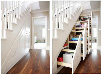 Under Stair Storage Ideas