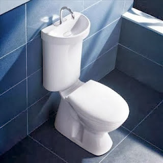 toilet sink for water conservation