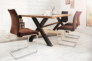 hneda jedalenska stolicka, vintage hneda stolicka