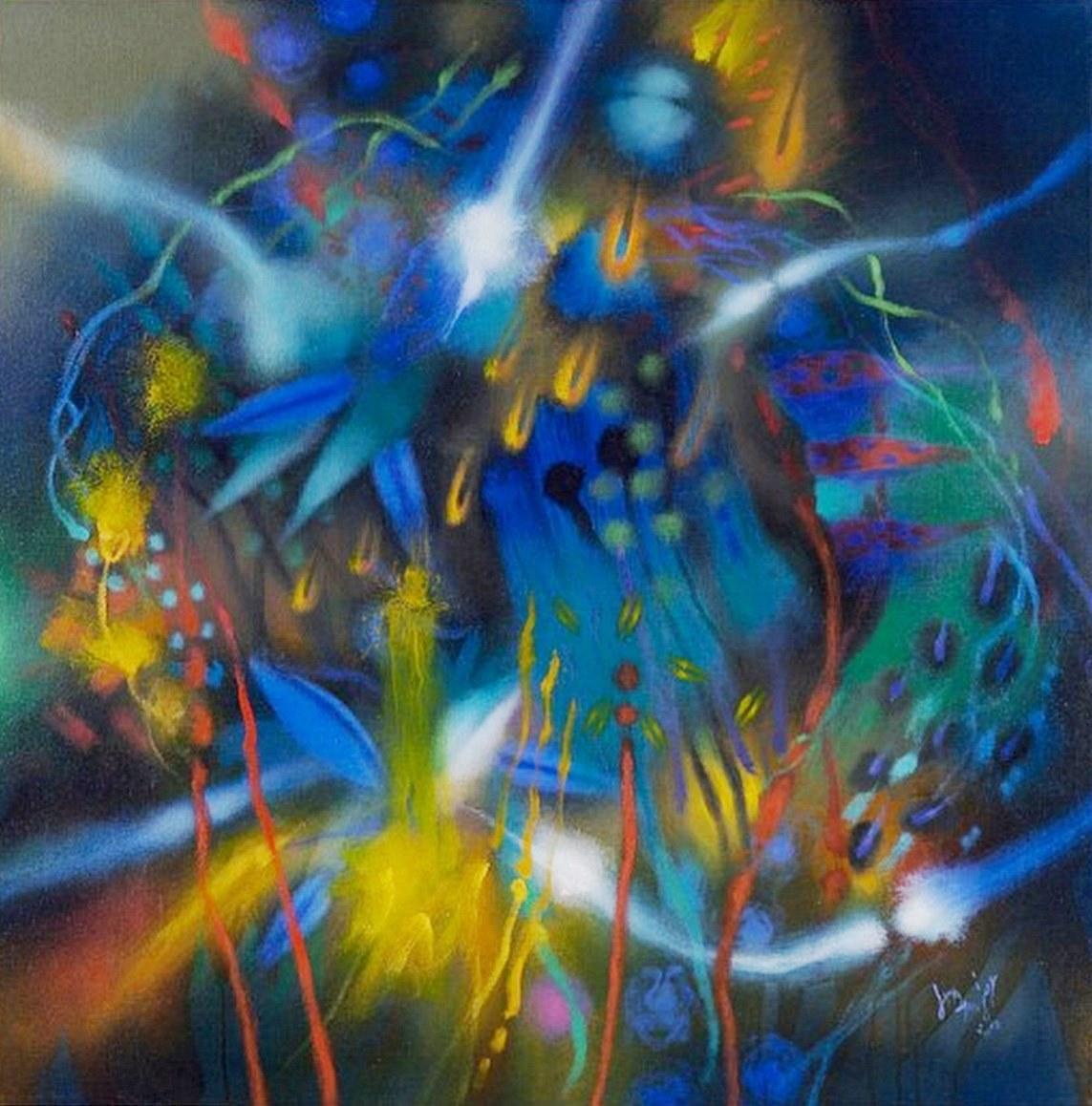 Cuadros pinturas oleos pintura leo moderna for Imagenes cuadros abstractos juveniles