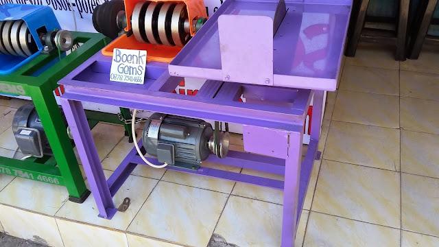 mesin gosok batu