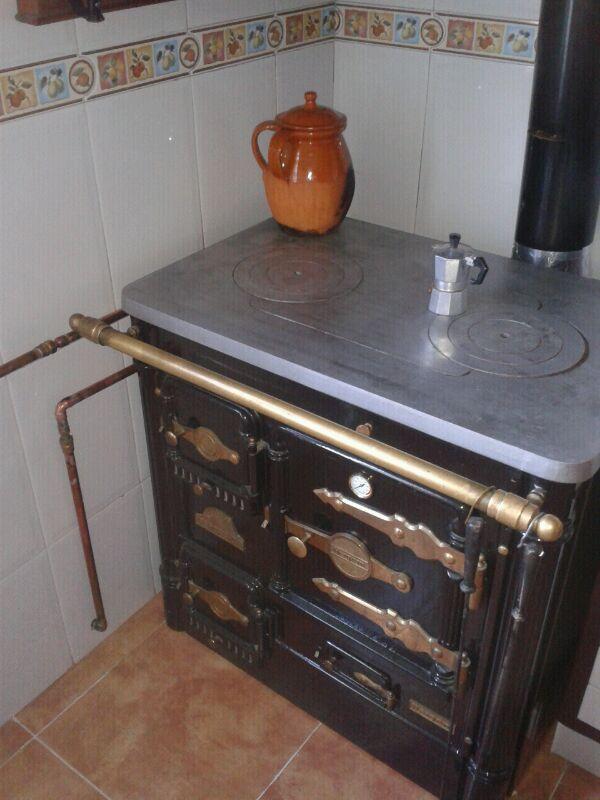 Tecnolog a para un progreso sostenible octubre 2012 for Cocinas economicas a gas