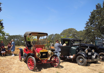 Vintage Cars on Display at Jack Creek Farms 2013 Threshing Bee, © B. Radisavljevic