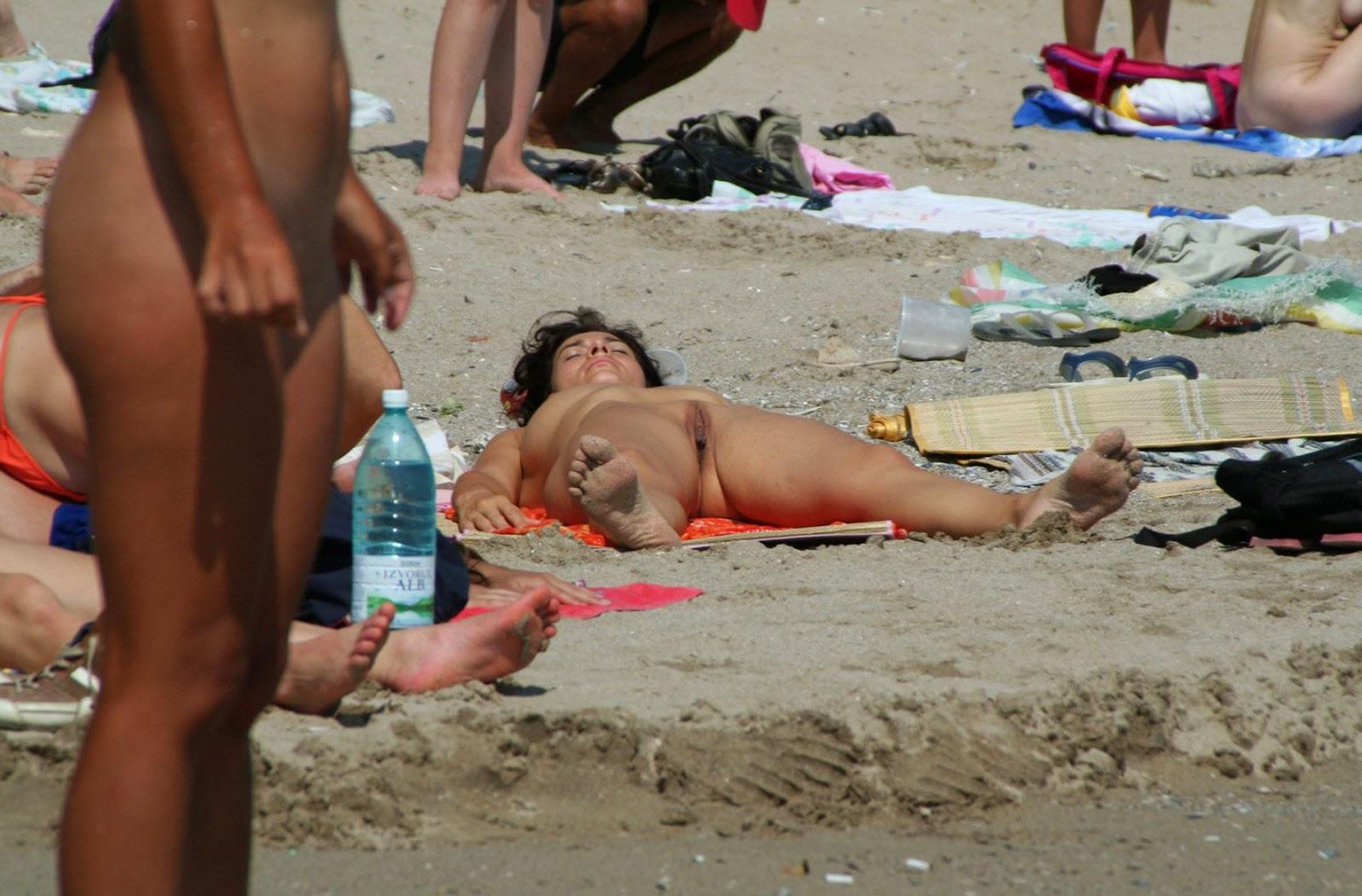 я сняла фото на нудистком пляже