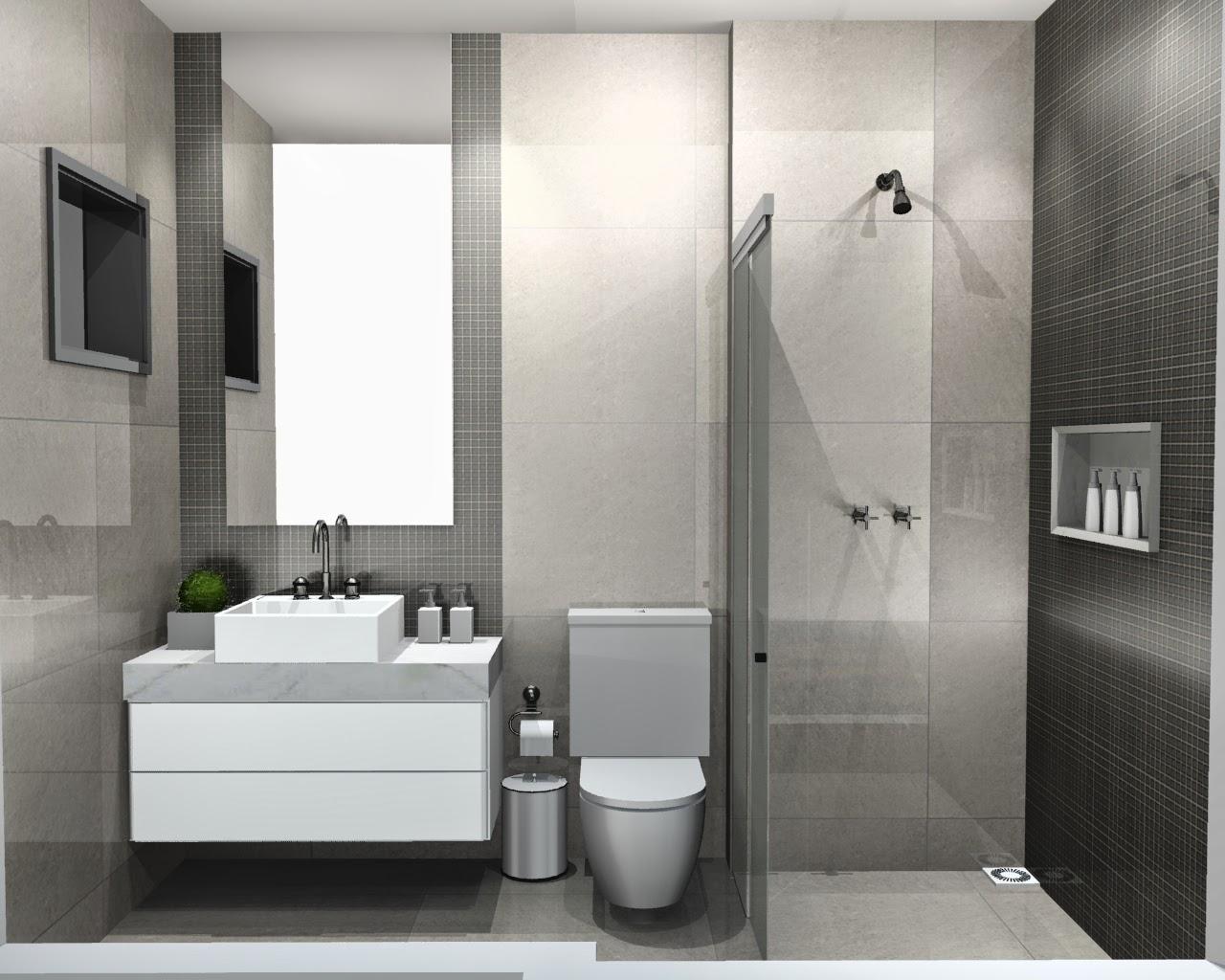 mesmo Porcelanato do piso porém com brilho Porcelanato Polido #4E573F 1280x1024 Banheiro Com Porcelanato 60x60