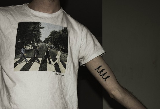 Drops of jupiter tattoo tuesday for Beatles tattoo abbey road
