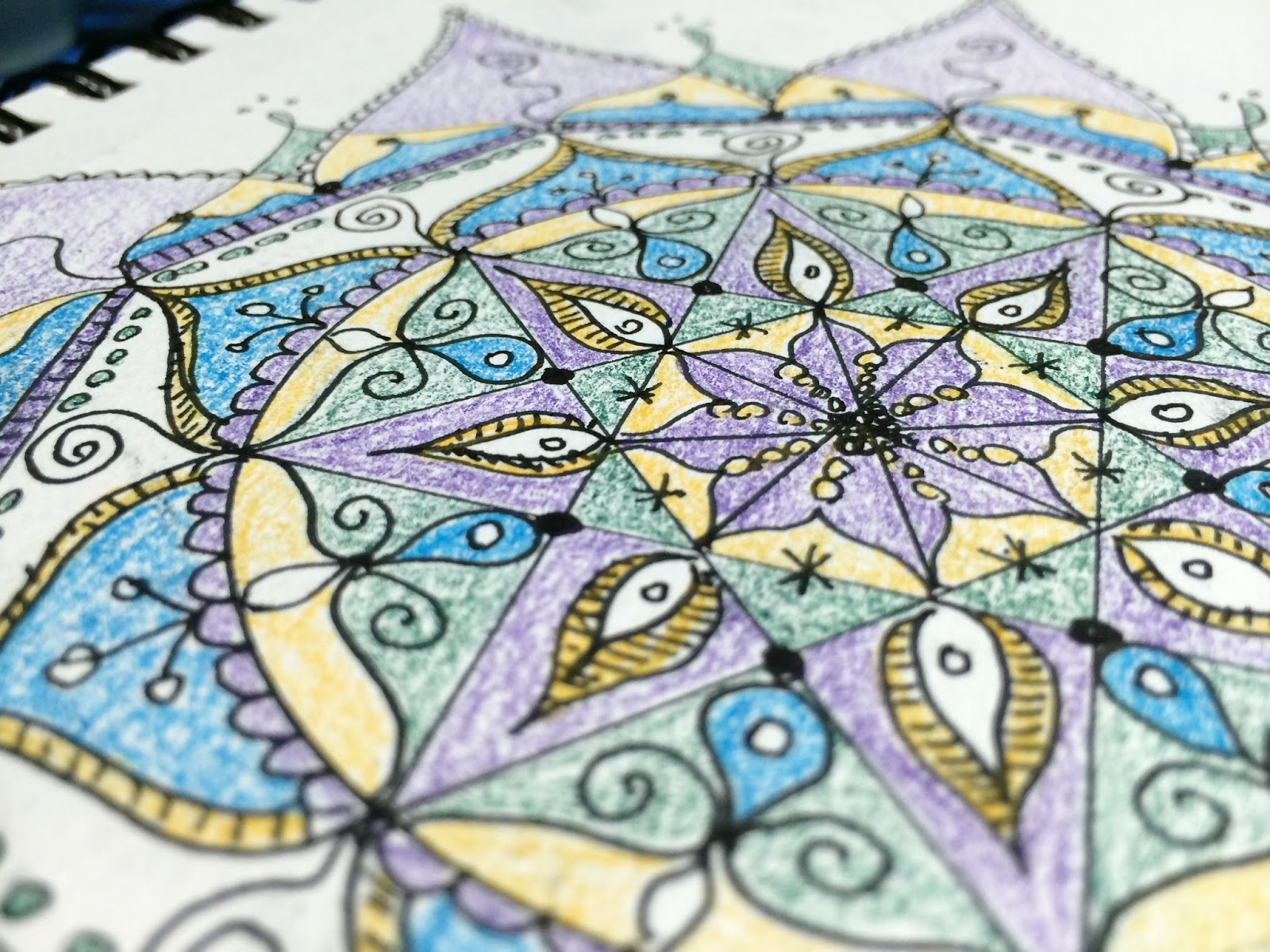 PaperTurtle: Mandala kit winners, and free coloring pages
