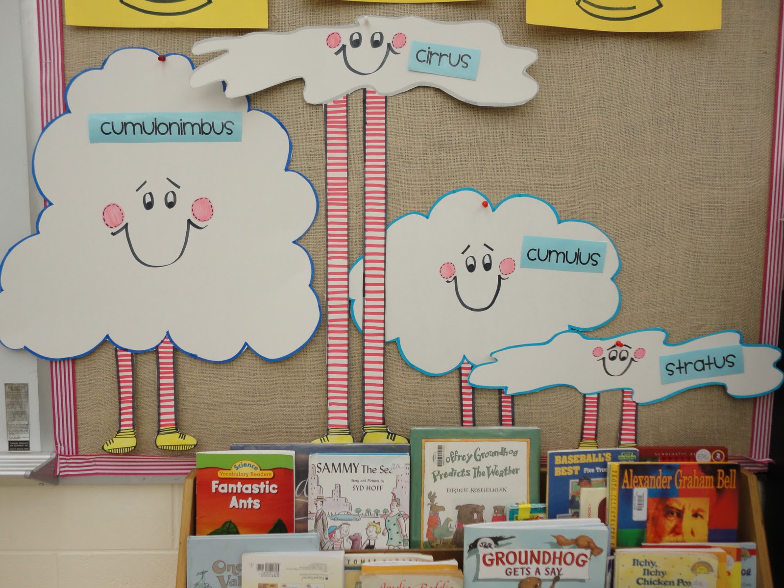 Classroom Design Aids Student Learning ~ Science notebooking teaching and technology cute clouds