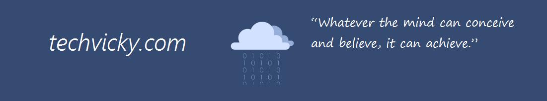 TECHVICKY :: Linux | Windows | Open-Source | CISCO | Programming