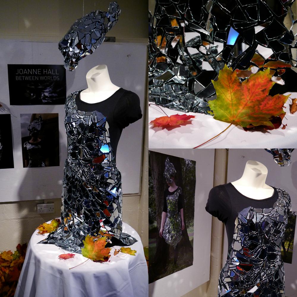 Dundee Wearable Art, Dundee Wearable Art Show, Wearable art, performance, fashion and art, Scottish Bloggers, broken glass, broken mirror, mirror costume