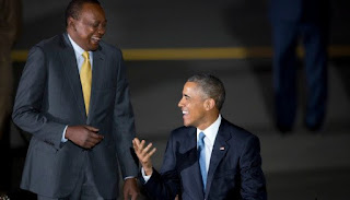 President Obama enjoyed his journey to Kenya