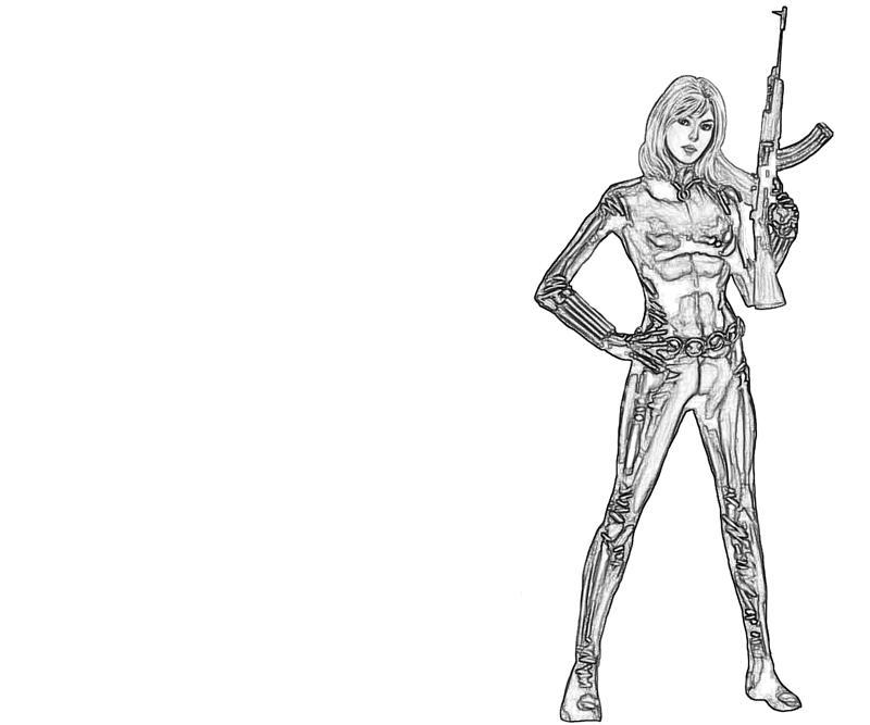 Sharon carter ak47 lowland seed for Ak 47 coloring pages