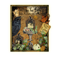A Witches Tea Party Under The Halloween Moon