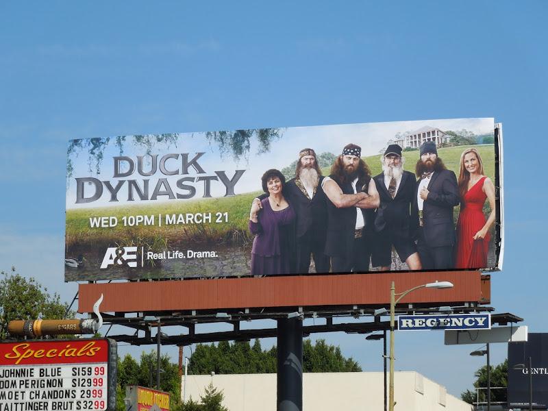 Duck Dynasty TV billboard