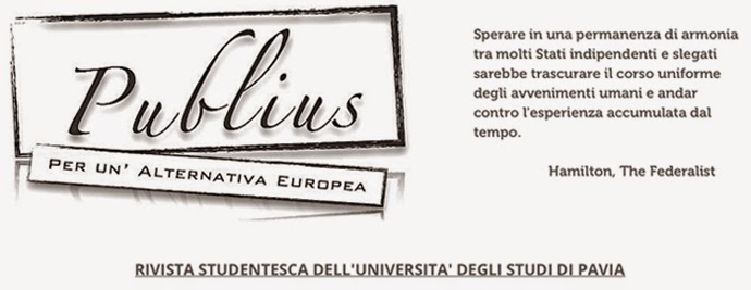 Publius - Per un'alternativa europea