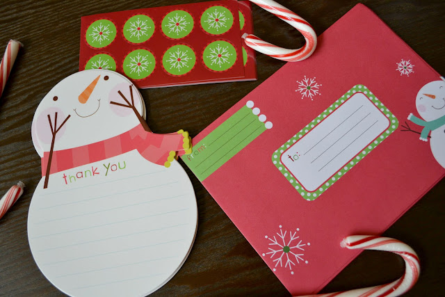 Mommy Testers christmas thank you cards, holiday thank you cards for kids