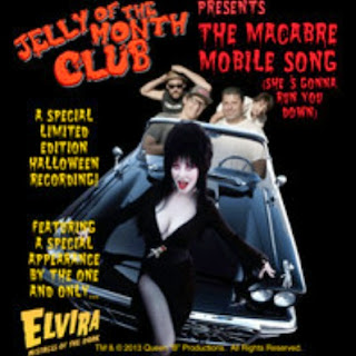 The Macabre Mobile by Jelly of the Month Club and Elvira