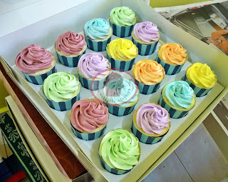 Cupcakes - Buttercream Swirls