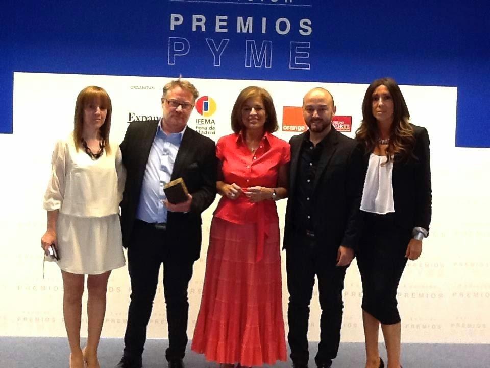 Vertize Gala ganadora X Edicion Premios PYME Expansion IFEMA vestidos de novia baratos