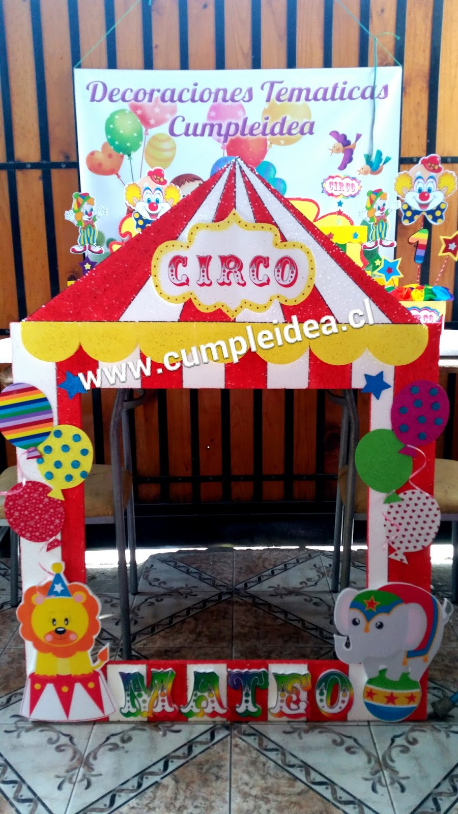 Decoraciones infantiles junio 2015 for Imagenes de decoracion de fiestas infantiles