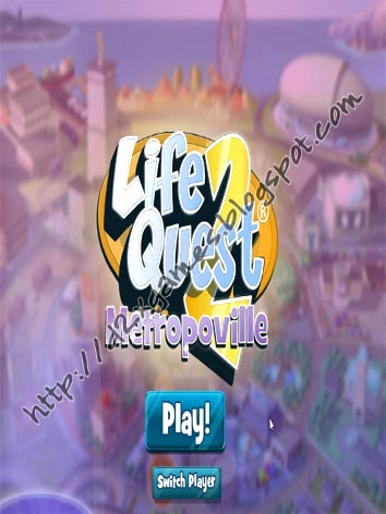 Free Download Games - Life Quest 2 Metropoville