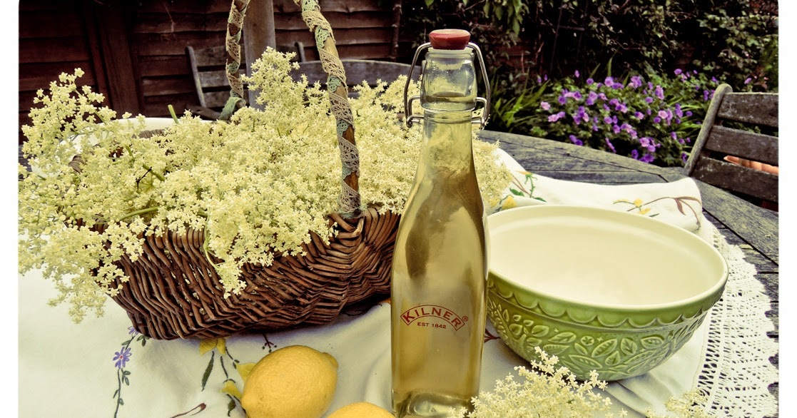 how to make elderflower presse