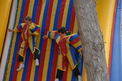 velcro wall at harvest festival