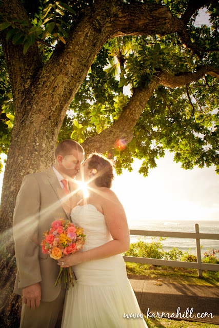 Maui Wedding by Simple Maui Wedding bride and groom
