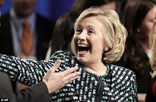 funny Hillary Clinton hairdo