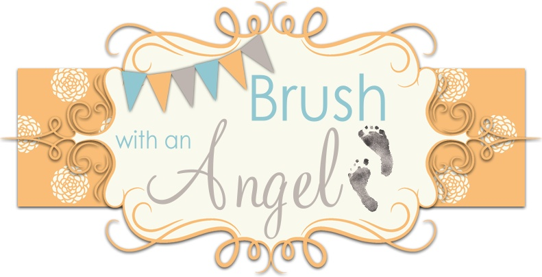 Brush with an angel
