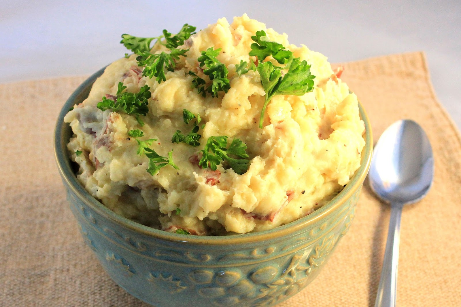 Deals to Meals: Garlic Smashed Potatoes