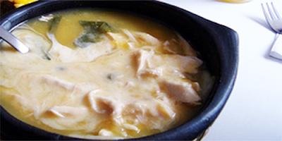 Ajiaco de Pollo a la crema