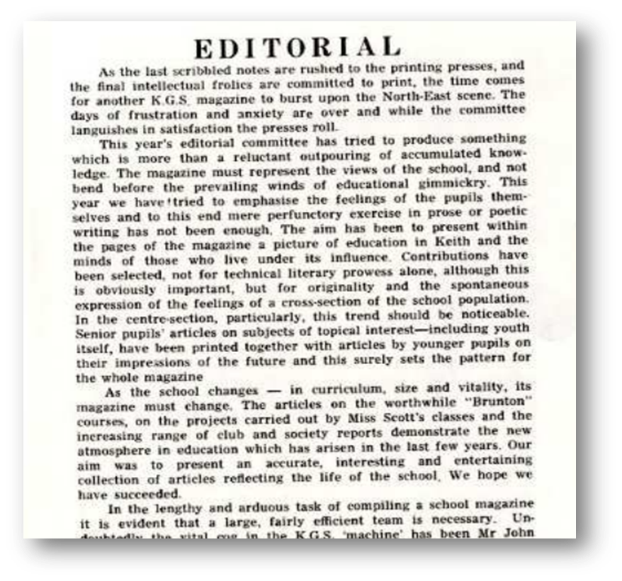 editorial for school magazine essay Essays on new topic write up for school magazine the new topic write up for school magazine is one of the most popular assignments among students' documents if you are stuck with writing or missing ideas, scroll down and find inspiration in the best samples.