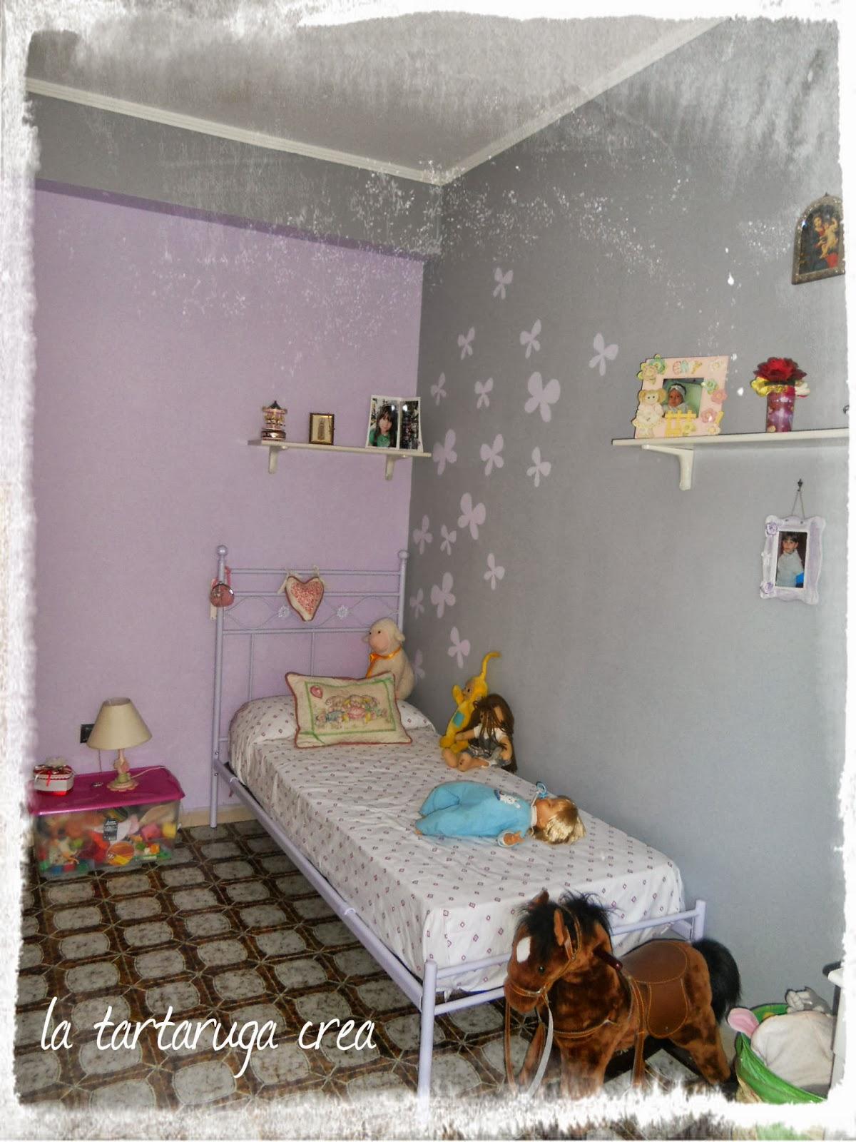 Stencil cameretta with stencil cameretta decorazioni - Dipingere camera bambini ...