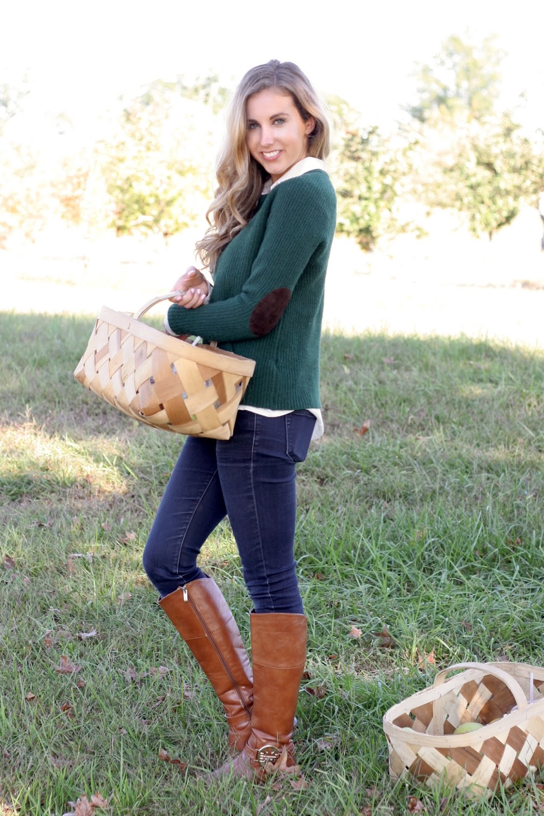 Fall-layers-riding-boots-a-sweater-and-a-button-up